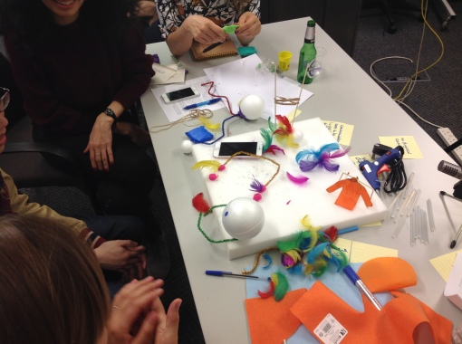 Imagining Remote Personal Touch: Rapid prototyping