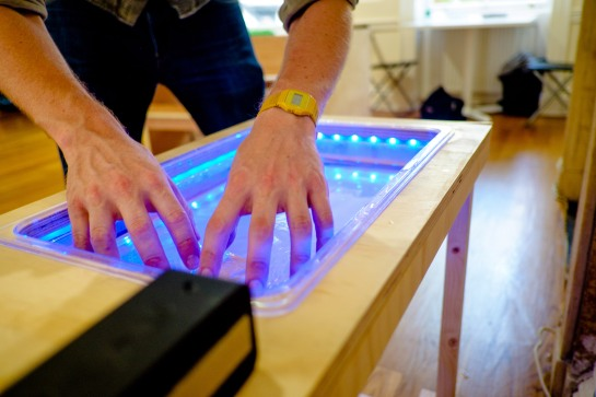 Remote Contact: Water Synthesiser