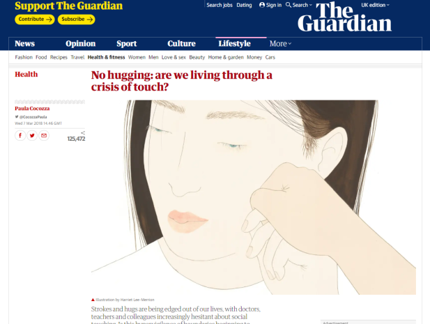 Crisis of Touch - Guardian